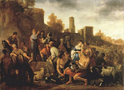 painting of Old testament violence